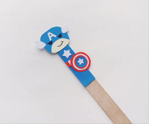 A Great Avengers Paper Puppet Craft