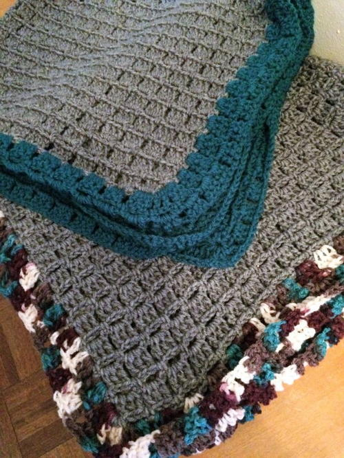 Cozy & Comfy Baby Afghan Pattern