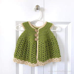 Baby Girl Meadow Cardigan Dress