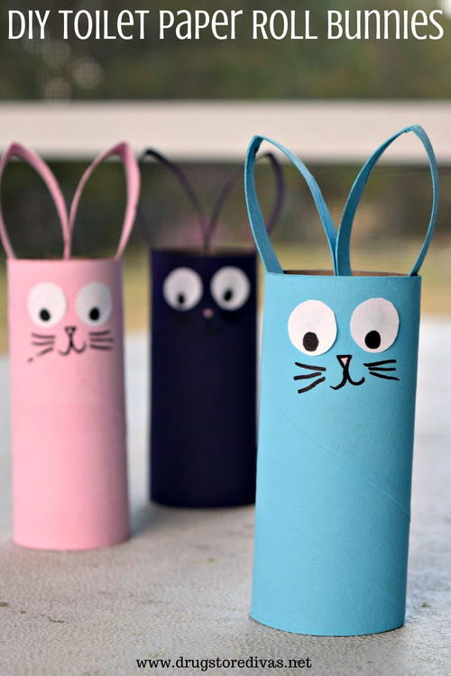 Diy Toilet Paper Roll Bunnies