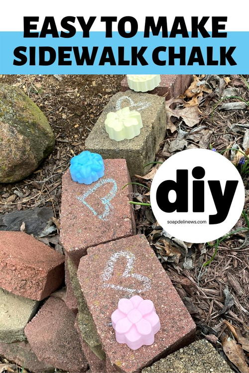 Diy Kids Sidewalk Chalk