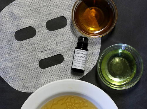 Diy Brightening Sheet Mask Recipe