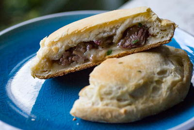 Traeger Beef And Mushroom Biscuit Pockets