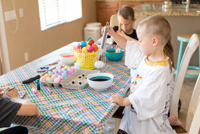 Tips For Coloring Eggs With Toddlers