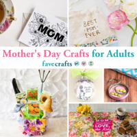 101+ Mother's Day Crafts for Adults