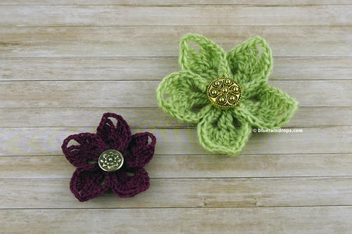 Easy Crochet Wildflower Pattern