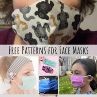 10+ Patterns for Face Masks