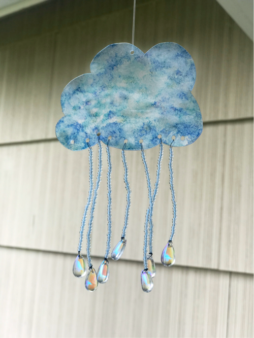 How To Make A Crystal Rain Drop Sun Catcher