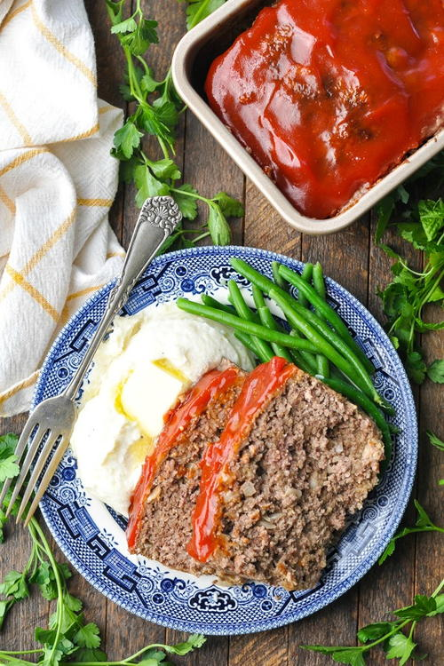 Old-fashioned Meatloaf With Oatmeal