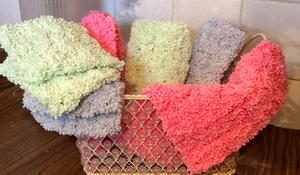 Crochet Luxurious Washcloth And Face Scrubbie
