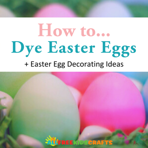 How to Dye Easter Eggs  16 Easter Egg Decorating Ideas