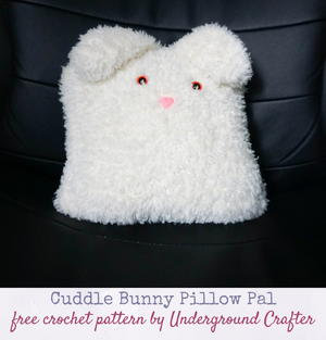 11 Crochet Bunny Patterns -Easter Fun - A More Crafty Life | 313x300