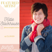 Punch Needle Artist: Katie Stackhouse of Midnight Creative