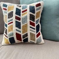 How to Finish a Punch Needle Pillow