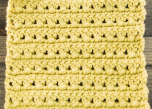 How to Crochet the X Stitch