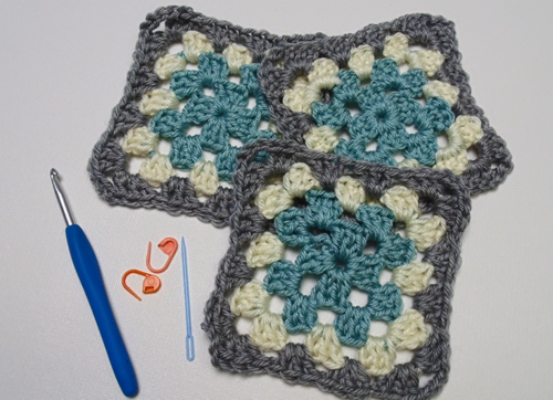 How to Assemble Your Granny Squares
