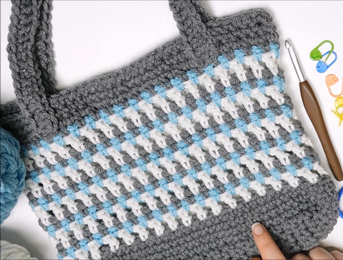 Trendy Crochet Tote Tutorial