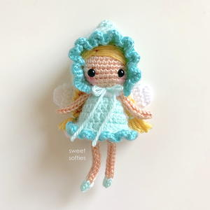 Piper The Pixie Amigurumi Fairy Doll