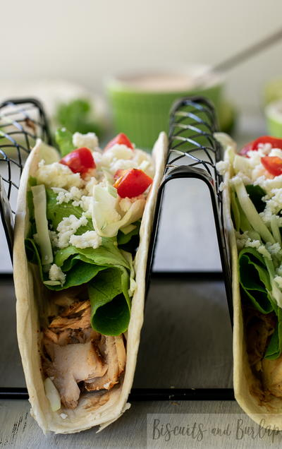 Grilled Fish Tacos With Baja Sauce