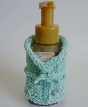 Bathroom Bottle Cozy
