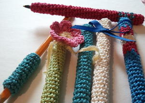 Crochet Pen Covers