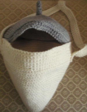 Crocheted Yarn Bag