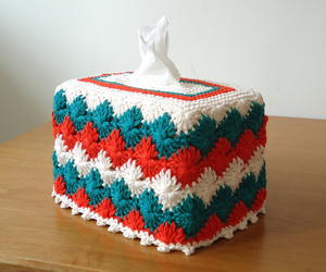 Catherine Wheel Tissue Box Cover