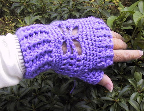 Suzies Butterfly Mitts
