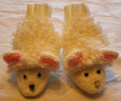Adorable Sheep Slippers