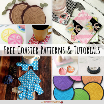 25 Free Coaster Patterns and Tutorials