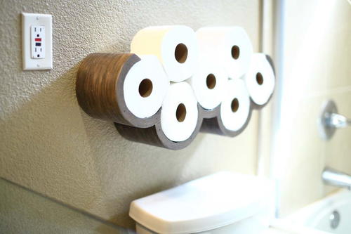 Cloud Toilet Paper Storage