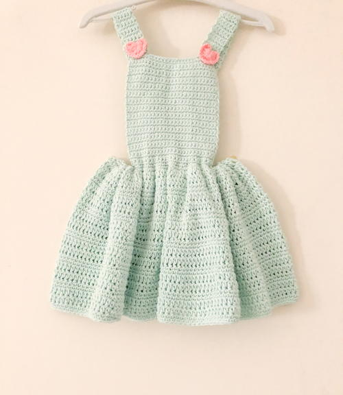 Little Hearts And Bow Dress