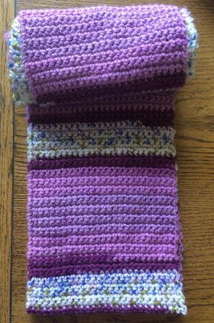 Crochet Simple And Quick Scarf