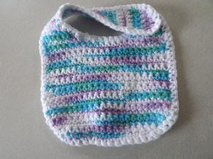 Easy Crochet Baby Bib