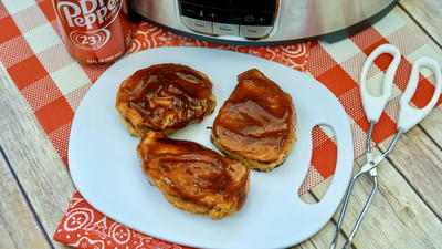 Easy Dr. Pepper Slow Cooker Pork Chops Recipe