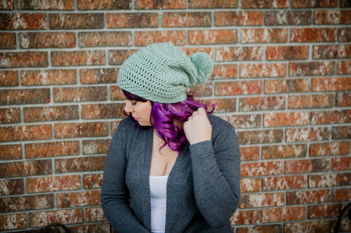North Mountain Easy Crochet Slouchy Beanie