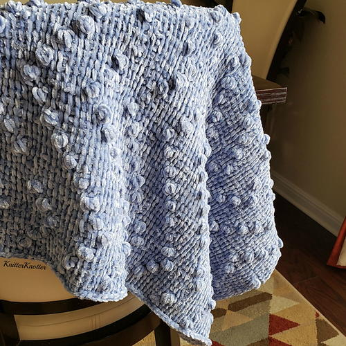 'all Bobbled Up' Baby Blanket