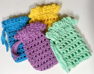 Simple Soap Holder Crochet Pattern