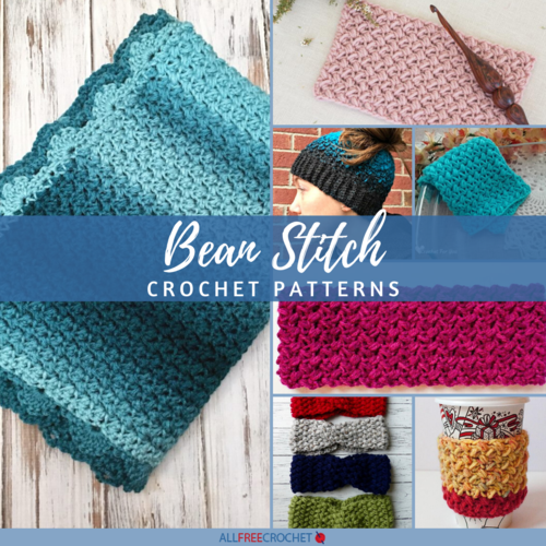 23 Bean Stitch Crochet Patterns