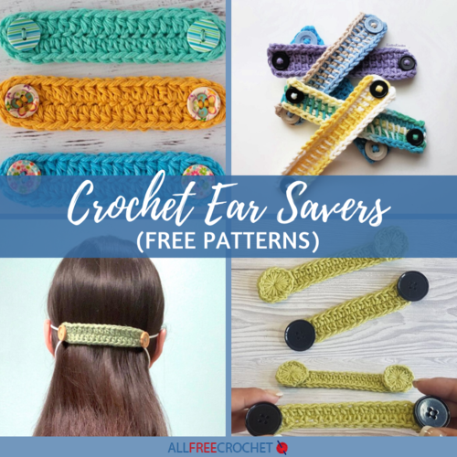 5 Crochet Ear Saver Patterns