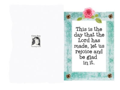 Psalms 118 Free Printable Greeting Card