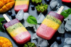 Blender Healthy Smoothie Lollies