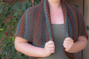 Bette's Winter Blanket Shrug