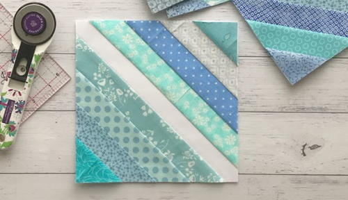 Little Blue Lake Quilt Block