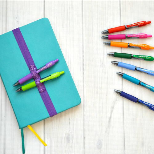 Diy Pen Strap For Journals
