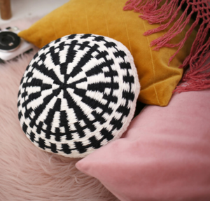 Two Color Woven Pillow Pattern