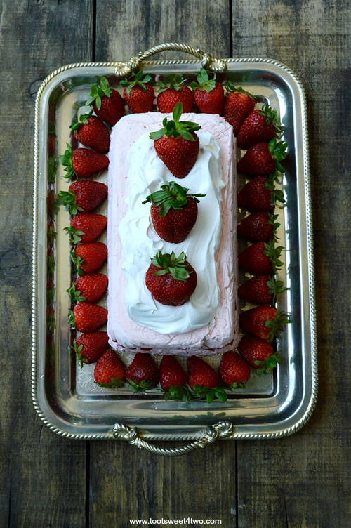 Endless Summer Strawberry Icebox Cheesecake