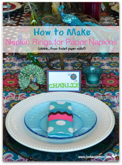 How To Make Napkin Rings For Paper Napkins