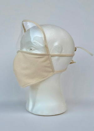 Simple Face Mask With Visor Free Sewing Pattern And Tutorial