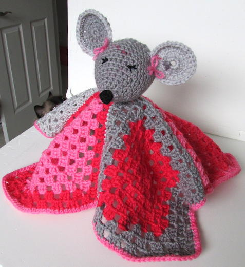 Miss Mouse Lovey Blanket